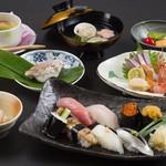 寿司 さ々木 - おまかせ8,000円(お造り付)
