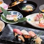 寿司 さ々木 - おまかせ6,800円(お造り付)