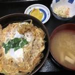 こっくどーる - 料理写真:カツ丼