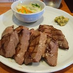 まねき家 - 牛タン1.5倍定食