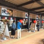 古賀サービスエリア(下り線) スナックコーナー - 外のスナックコーナー