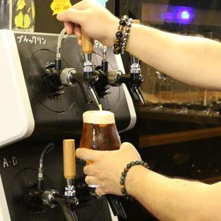 """TapMarche導入!国産""""生""""クラフトビールを飲もう!"""