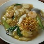 中華食堂杏 - 料理写真:麺をひっぱりだし