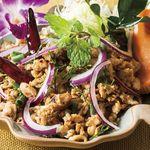 チャンパー -  鶏挽肉のサラダ イサ-ン風