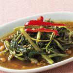 チャンパー - 空心菜の強火炒め