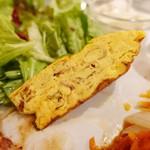 ピケ - 本日の肉ランチ(イベリコ豚のハンバーグ)1,000円