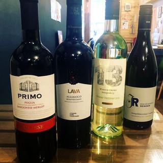 ◇巷で人気◇体に優しい自然派ワインが充実◎常時40種類以上!