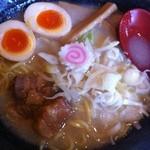 曇天 - 味玉入塩ラーメン850円 2011.5