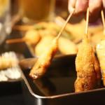 串カツ・釜飯 味楽 - 料理写真: