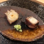 85944218 - 蒸し蛸と煮蛸