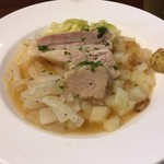 85945615 - 豚バラ肉のブイヨン煮