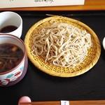 そば屋 けん豆 - 鶏ごぼう蕎麦