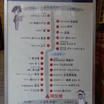 川淀 - 食堂街の見取り図