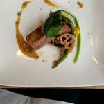 85946881 - イタリア産豚肉 グリーンペッパーソース