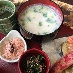 カフェ イロハ - IROHAかご弁当のスープ