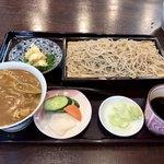 鵠沼海岸 蕎麦兄 - 料理写真:ミニカレー丼ランチセット そば大盛 1,300円