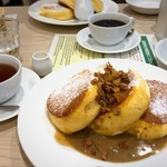 幸せのパンケーキ - 紅茶のパンケーキ 1380円