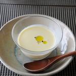 イロナキカゼ - コーンの冷製スープ