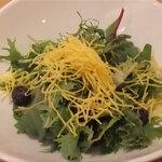 李朝園 - フレッシュ野菜とブルーベリーのレモン風味サラダ(280円)