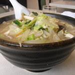 中華料理 栄香楼 - タンメン(少なめ)