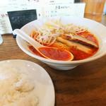 四川 - 料理写真:担々麺+ライス
