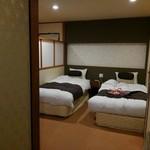 五浦観光ホテル 別館 大観荘 - 東館 5人で泊った和洋室