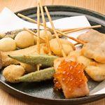 串揚げ居酒屋ハシゴ - 料理写真:8本盛り合わせ