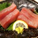 天ぷら海鮮いっ福神戸北店 - 鮪のお造り♪