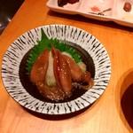 魚に鍋に炭火焼 いちかわ 藤 - 春ですねえ~ホタルイカ沖漬
