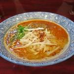 "自家製麺 魚担々麺・陳麻婆豆腐 ""dan dan noodles"" -"