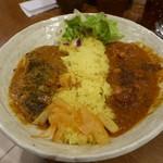 85957780 - 魯咖チキン&野菜コルマ