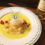 厨 らぱらぱ - お魚のカルパッチョ