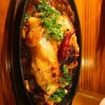 厨 らぱらぱ - 鶏モモのピリ辛