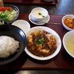 中華ダイニング 龍の壺 - 料理写真:四川麻婆豆腐ランチ(1000円) ※ランチでクーポン使用