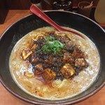 白湯麺屋 - 麻婆担々麺白ごま