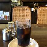 高木珈琲店 - ホットサンド(ハーフサイズのドリンクセット/750円)