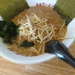 ラーメンショップ - 料理写真:ネギ味噌セットのラーメン