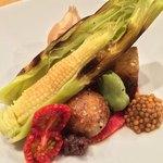 蘭奢待 - 野菜盛り合わせ