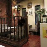 芽瑠辺 - ちなみに店内奥にあるトイレは男女共有の和式でした。
