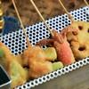 いか玉焼と串カツ マハカラ - 料理写真: