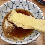天ぷらすずき - 「すずき定食」(850円)