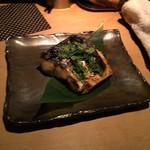 TAKASEGAWA - 大振りなサワラの木の芽炭焼