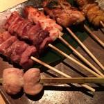 TAKASEGAWA - 近江軍鶏おまかせ炭焼き