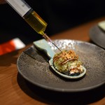 創作鉄板 粉者牛師 - 牡蠣のワンスプーン ★いっしーリコメンド