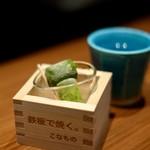 創作鉄板 粉者牛師 - 生抹茶アイス