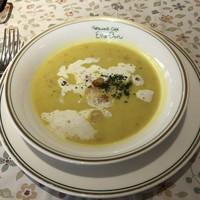レストランカフェ エルボン-カレー風味のスープ