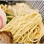 喜粋 - 極細麺。