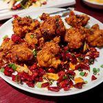 陳家私菜 - 川香鶏塊(鶏唐揚げのスパイシー炒め)