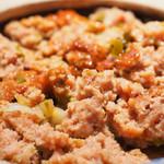 85975510 - 巨大肉団子酸辣上鍋御飯 890円 の良く混ぜた状態