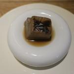 85975835 - シャンピニオンの焼き豆腐